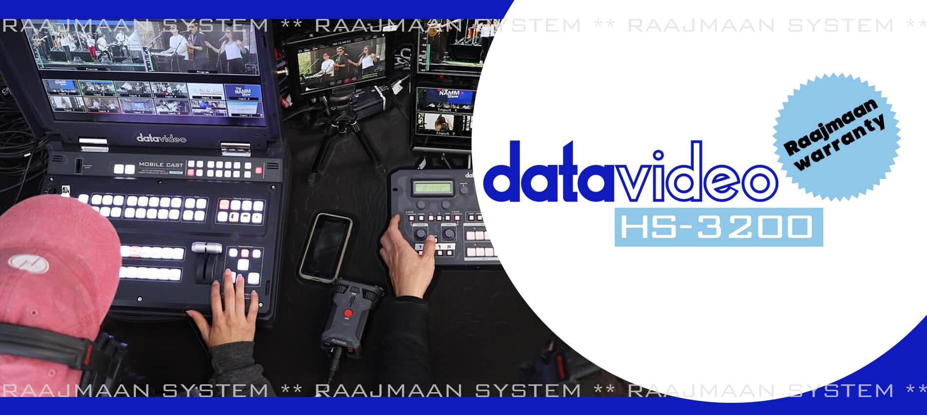 Datavideo HS-3200 raajmaan